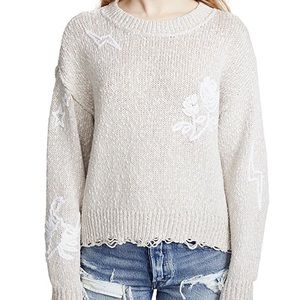 Wildfox Embroidered Sweater - NWOT!